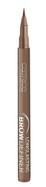 CATRICE Маркер для бровей Longlasting Brow Definer 040 Browdly Presents коричневый, 1мл54392Мастерский результат! Инновационный маркер для бровей Longlasting Brow Definer с уникальной жидкой текстурой придает бровям выразительность и естественный цвет. Благодаря сверхтонкому аппликатору Вы с легкостью добьетесь желаемого результата и сможете без особенных усилий подчеркнуть брови и скорректировать их форму