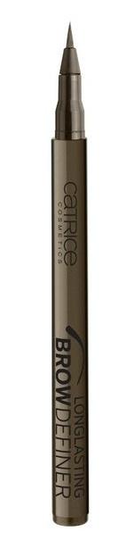 CATRICE Маркер для бровей Longlasting Brow Definer 030 Chocolate Brownie темно-коричневый, 1млFA-8115-1 White/greyМастерский результат! Инновационный маркер для бровей Longlasting Brow Definer с уникальной жидкой текстурой придает бровям выразительность и естественный цвет. Благодаря сверхтонкому аппликатору Вы с легкостью добьетесь желаемого результата и сможете без особенных усилий подчеркнуть брови и скорректировать их форму