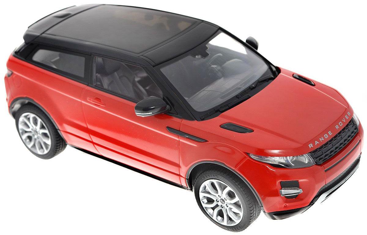 """Радиоуправляемая модель """"Range Rover Evoque"""" со световыми и звуковыми эффектами, являющаяся точной копией настоящего автомобиля, - отличный подарок не только ребенку, но и взрослому. Автомобиль изготовлен из современных прочных материалов и обладает высокой стабильностью движения, что позволяет полностью контролировать его процесс, управляя без суеты и страха сломать игрушку. Основные направления движения автомобиля: вперед-назад-влево-вправо. При движении вперед у автомобиля горят фары, при движении назад - стоп-сигналы. Пульт управления автомобиля выполнен в виде удобного руля на подставке, что позволяет не только держать его в руках, но и располагать на горизонтальной поверхности. На руле расположены кнопки газа, торможения и кнопка гудка. Во время движения автомобиля кнопка газа должна быть всегда нажата. На подставке руля расположен рычаг коробки передач, включающей в себя 4 положения: 1. D1 - движение вперед с сопутствующим звуком движения из пульта..."""