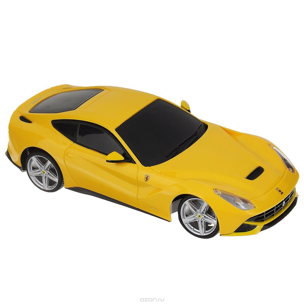 Maisto Радиоуправляемая модель Ferrari F12 Berlinetta цвет желтый масштаб 1:14 maisto радиоуправляемая модель ferarri ff цвет желтый