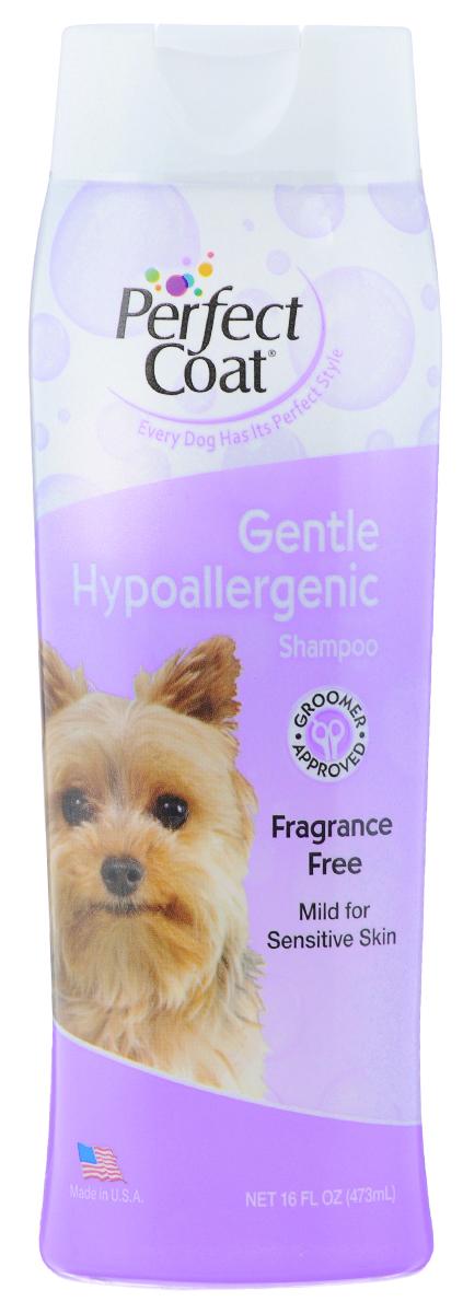 Шампунь для собак 8 in 1 Perfect Coat, гипоаллергенный, 473 мл0120710Гипоаллергенный шампунь 8 in 1 Perfect Coat разработан специально для чувствительной кожи. Мягкая, не вызывающая слез формула идеальна для собак, страдающих от аллергии на красители и ароматизаторы. Успокаивающие компоненты Алоэ вера оставляют шерсть мягкой и блестящей, не раздражая кожу. Шампунь очищает и восстанавливает шерсть.Не содержит красителей и ароматизаторов.Легко смываемая формула. Применение: Обильно нанесите на влажную шерсть. Распределите шампунь массирующими движениями, продвигаясь от головы к хвосту и избегая попадания шампуня в глаза. Полностью смойте водой. При необходимости повторить. Расчешите шерсть, чтобы она не спуталась, и высушите полотенцем.Состав: вода, натрия лаурет сульфат, динатрия олеамидо МЕА сульфосук-цинат, кокамид DEA, динатрия кокамфодиацетат, кокамидопропил бетаин, натрия хлорид, глицерин, гель Алоэ Вера.Товар сертифицирован.