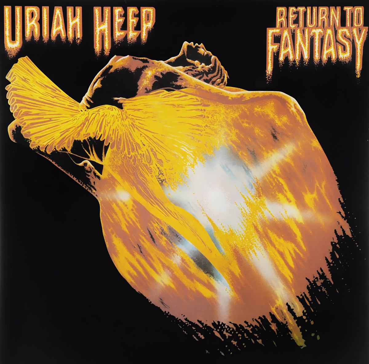 Uriah Heep Uriah Heep. Return To Fantasy (LP) fantasy inc prestige records