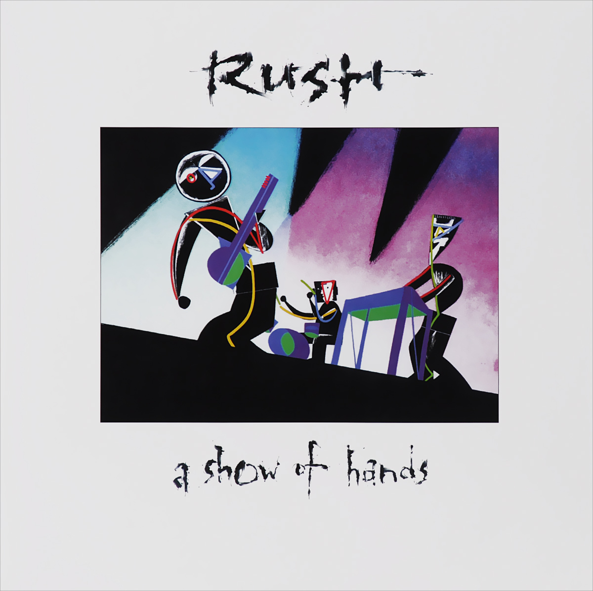 Rush Rush. A Show Of Hands (2 LP) rush rush moving pictures lp