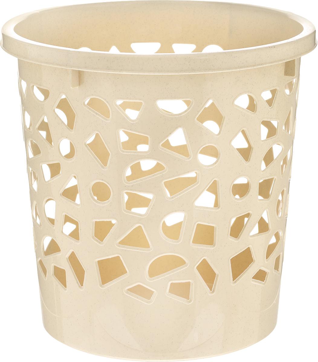 Корзина для мусора Бытпласт, цвет: бежевый, высота 26 смRG-D31SКорзина для мусора Бытпласт, изготовлена из высококачественного пластика. Вы можете использовать ее для выбрасывания разных пищевых и не пищевых отходов. Корзина имеет отверстия на стенках и сплошное дно. Корзина для мусора поможет содержать ваше рабочее место в порядке.Диаметр (по верхнему краю): 26 см.Высота: 26 см.