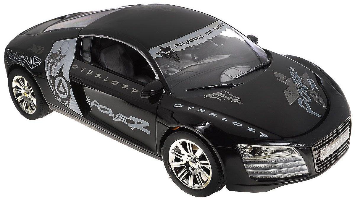 """Машина на радиоуправлении """"Power X8"""" с ярким оригинальным дизайном, непременно порадует юного """"гонщика"""". Управлять автомобилем помогает удобный практичный пульт. Корпус автомобиля изготовлен из прочного пластика. Машинка движется вперед, назад, влево и вправо. При движении вперед у автомобиля загораются фары, при движении назад стоп-сигналы. Такая игрушка понравится любому мальчишке и принесет массу позитивных эмоций! Радиоуправляемые игрушки способствуют развитию координации движений, моторики и ловкости. Модель работает от аккумулятора (зарядное устройство в комплекте). Для работы пульта необходимо докупить 2 батарейки типа АА (не входят в комплект). Рекомендуемый возраст: от 5 лет."""