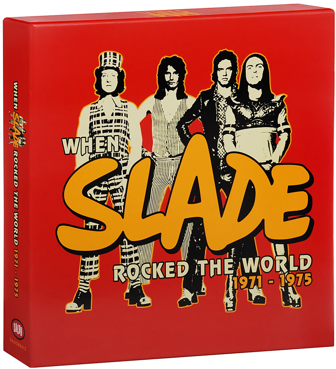 Slade Slade. When Slade Rocked The World 1971-1975 (8 LP + 2 CD) cd диск the doors when you re strange a film about the doors songs from the motion picture 1 cd