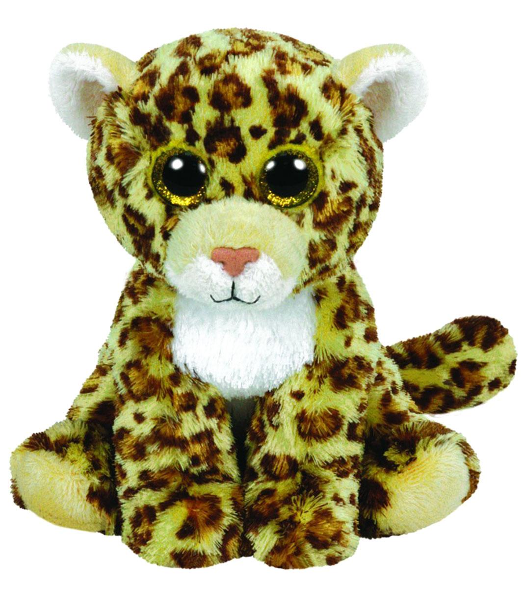 TY Мягкая игрушка Леопард Spotty 16 см