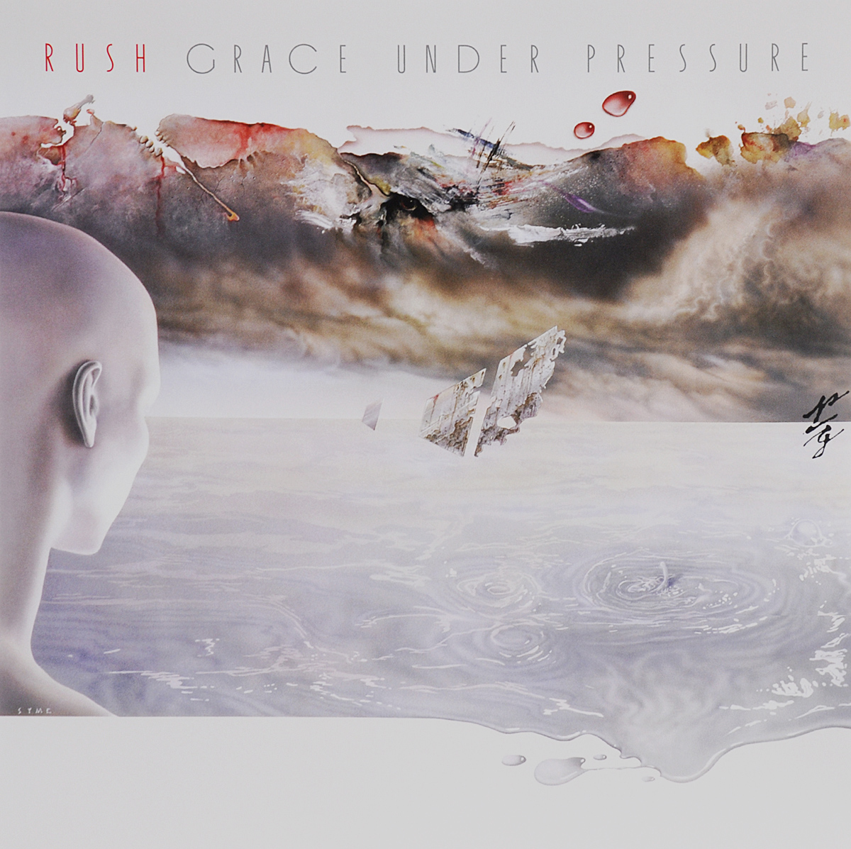 Rush Rush. Grace Under Pressure (LP) rush rush moving pictures lp