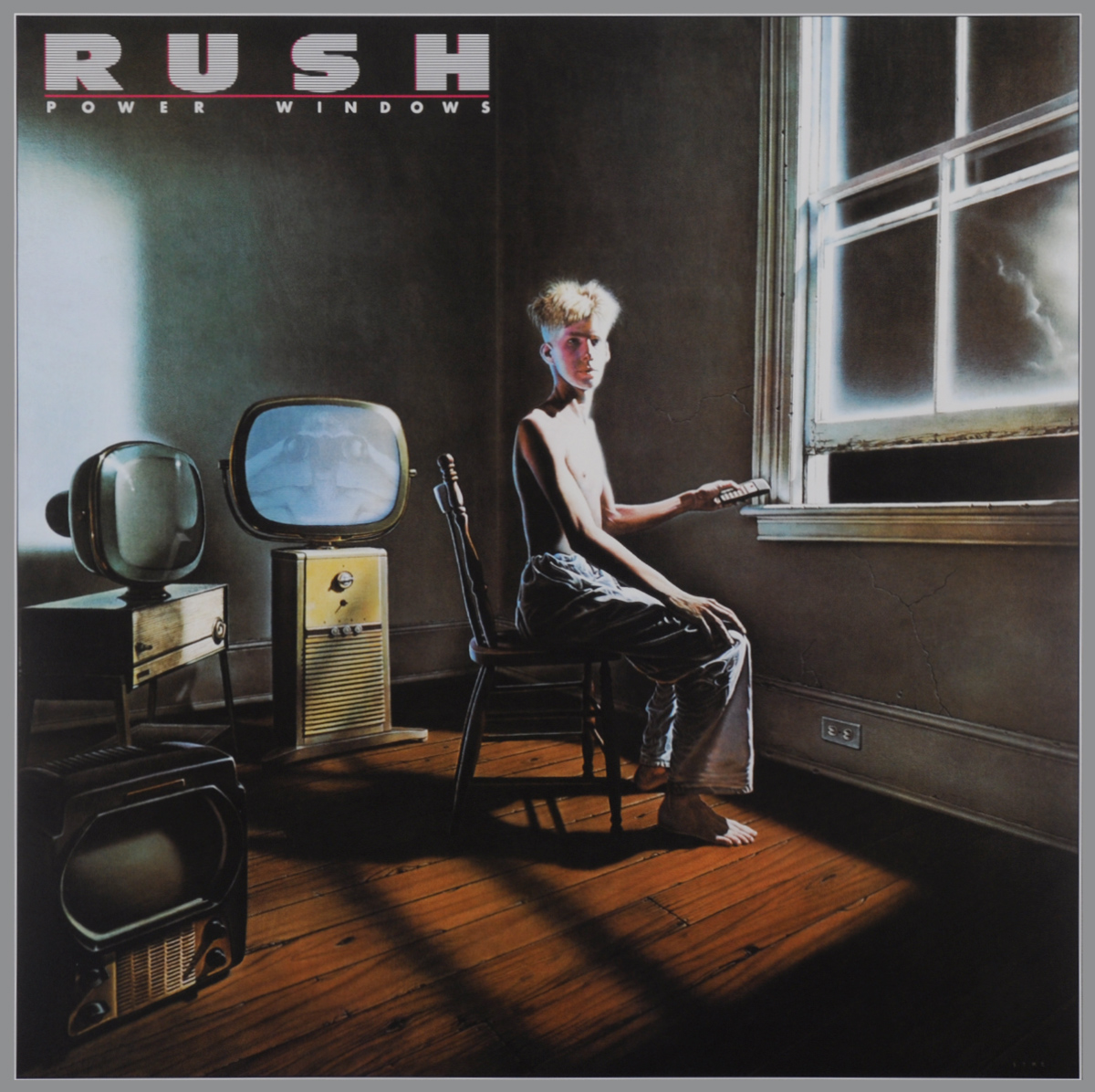 Rush Rush. Power Windows (LP) rush rush moving pictures lp