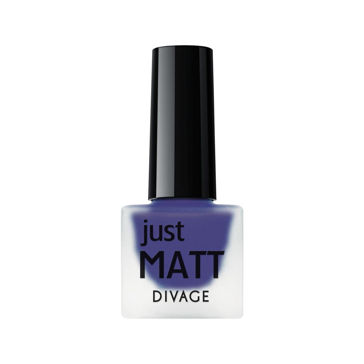 DIVAGE Лак для ногтей JUST MATT, тон № 5603, 7 мл28032022Легкая мягкая текстура лака позволяет выполнить маникюр с эффектом матового покрытия. Настоящая бархатная фантазия для твоего образа. Лак выравнивает неровности ногтевой пластины и позволяет создать идеальный маникюр с насыщенным цветом в один слой. Коллекция постоянно дополняется и обновляется новыми актуальными цветами. С оттенками коллекции JUST MATT легко воплотить в жизнь различные nail-дизайны, и каждый раз ваш маникюр будет смотреться стильно и по-новому!Легкая мягкая текстура лака позволяет выполнить маникюр с эффектом матового покрытия.Настоящая бархатная фантазия для твоего образа. Лак выравнивает неровности ногтевой пластины и позволяет создать идеальный маникюр с насыщенным цветом в один слой. Коллекция постоянно дополняется и обновляется новыми актуальными цветами.