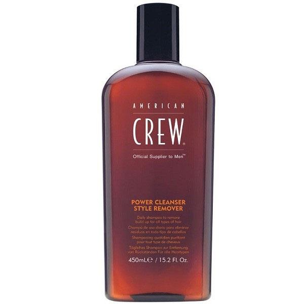 American Crew Шампунь для ежедневного ухода, очищающий волосы от укладочных средств Classic Power Cleanser Style Remover 450 млFS-00103Шампунь для ежедневного ухода, очищающий волосы от укладочных средств прекрасно подходит для волос, которые часто подвергаются воздействию укладочных средств. Данный продукт имеет сразу несколько достоинств. Шампунь American Crew способствует усилению здорового блеска волос, хорошо увлажняет волосы, замечательно питает их полезными растительными экстрактами, что способствует восстановлению структуры повреждённых волос и благоприятно влияет на кожу головы. Шампунь Американ Крю придаёт волосам живой объём, шелковистость и мягкость, защищает их от вредных воздействий внешних факторов.Шампунь Американ Крю Power Cleanser подходит для всех типов волос и ежедневного ухода, отлично тонизирует и освежает.
