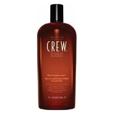 American Crew Шампунь увлажняющий Classic Daily Moisturizing Shampoo 1000 млFS-00897Увлажняющий шампунь от компании American Crew это шампунь, который отлично очищает и увлажняет волосы по всей их длине. Предназначен для сухих и нормальных волос. Входящее в состав рисовое масло придает небывалый блеск и упругость локонам. А благодаря натуральным экстрактам тимьяна и розмарина волосы станут гораздо более влажными и привлекательными. Применение шампуня American Crew Daily Moisturizing Shampoo придаст необходимую мягкость и шелковистость вашим волосам.