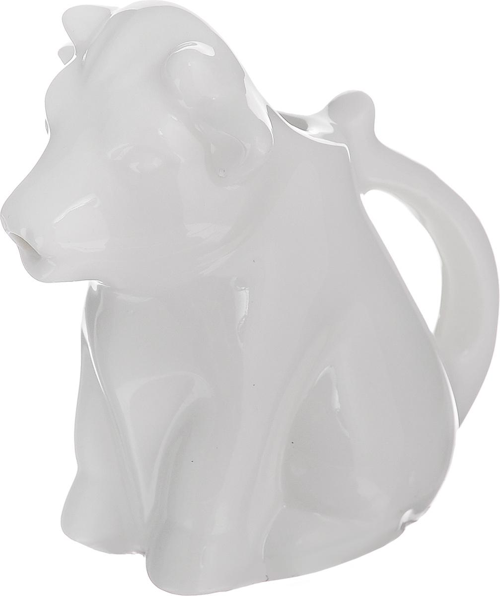 Молочник Walmer Cow, цвет: белый, 50 мл115610Молочник Walmer Cow, изготовленный из высококачественного фарфора, предназначен для подачи сливок, соуса и молока. Изящный, но в тоже время простой дизайн молочника, станет прекрасным украшением стола. Размер молочника: 8 х 5 х 8 см.