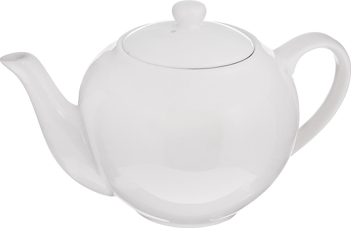 Чайник заварочный Walmer Classic, цвет: белый, 500 мл391602Заварочный чайник Walmer Classic изготовлен извысококачественного фарфора. Гладкая и идеально ровная поверхностьобеспечивает легкую очистку. Изделие прекрасно подходит для заваривания вкусного и ароматного чая,травяных настоев. Оригинальный дизайн сделает чайник настоящим украшением стола. Онудобен в использовании и понравится каждому.Диаметр чайника (по верхнему краю): 8 см. Высота чайника (без учета крышки): 10 см.