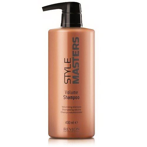 Revlon Professional Style Шампунь для объёма волос Masters Volume Shampoo 400 млFS-00897Revlon Professiona Style Masters Volume Shampoo Шампунь для объёма волос создан специально для тщательного очищения волос, а также для придания волосам эффекта объёма. Уже после первого использования данного продукта от компании Ревлон волосы становятся сильными и объёмными, при этом не теряя интенсивность натурального цвета. Шампунь Revlon Профессионал Style Masters Volume обеспечивает правильное и полноценное питание волос, придаёт им гладкость и шелковистость, обладает восстанавливающими свойствами, защищает волосы от негативных воздействий окружающей среды, в том числе от вредных ультрафиолетовых лучей. При использовании данного шампуня устраняется проблема спутывания волос, при этом процесс расчёсывания становится комфортным и приятным.Шампунь Ревлон Professional Volume – прекрасное средство для ежедневного и полноценного ухода за волосами, а также для придания им великолепного эффекта объёма.