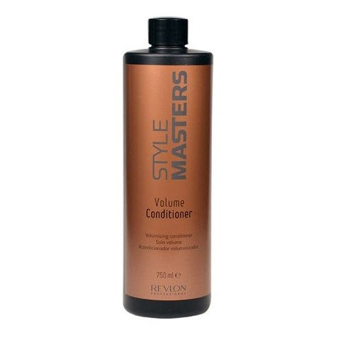 Revlon Professional Style Кондиционер для объёма волос Masters Volume Conditioner 750 млFS-54100Revlon Professional Style Masters Volume Conditioner Кондиционер для объёма волос разработан специально для того, чтобы придавать волосам впечатляющий и эффектный объём. Данное средство совершенно не утяжеляет волосы, при этом делает их послушными, упругими и эластичными, а также обеспечивает правильное питание волос и способствует их восстановлению и укреплению. Кондиционер для объёма волос Revlon Professional снимает статическое электричество, значительно облегчает расчёсывание и очень хорошо подходит для частого применения.Кондиционер Volume Conditioner от компании Ревлон придаёт волосам великолепный объём, красивый вид, обеспечивает сияние оттенка и дарит жизненную силу.