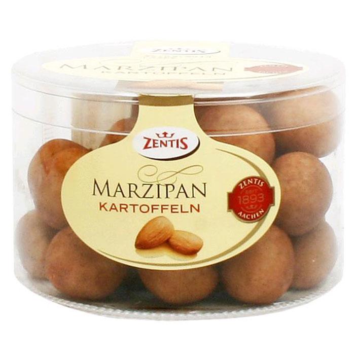 Zentis марципановая картошка, 250 г905002 ЦмZentis - это классический нежный марципан в темном какао-порошке.