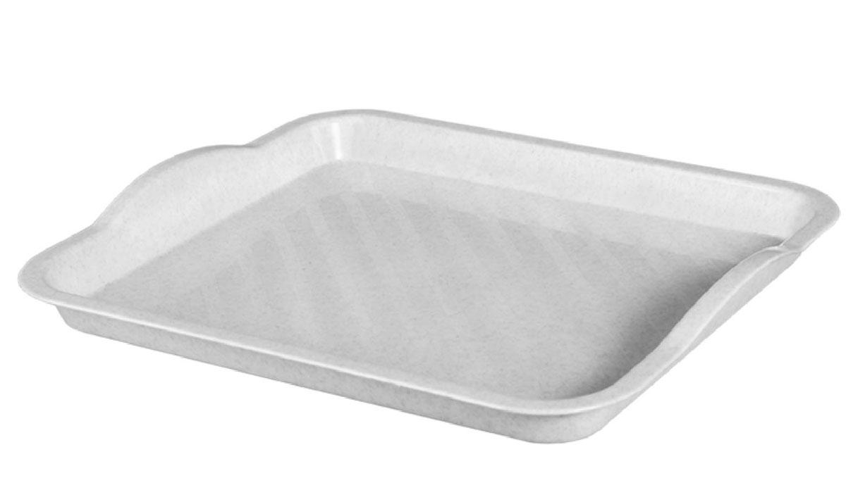 Поднос Idea, цвет: мраморный, 29 х 25 см115510Поднос Idea изготовлен из высококачественного полипропилена. Он станет незаменимым предметом для сервировки стола. Поднос не только дополнит интерьер вашей кухни, но и защитит поверхность стола от грязи и перегрева. Классический поднос Idea придется по вкусу и ценителям классики, и тем, кто предпочитает современный стиль.