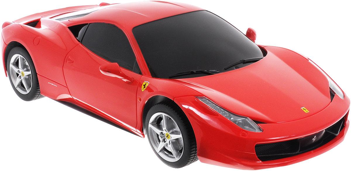 Rastar Радиоуправляемая модель Ferrari 458 Italia цвет красный масштаб 1:18 53400-8