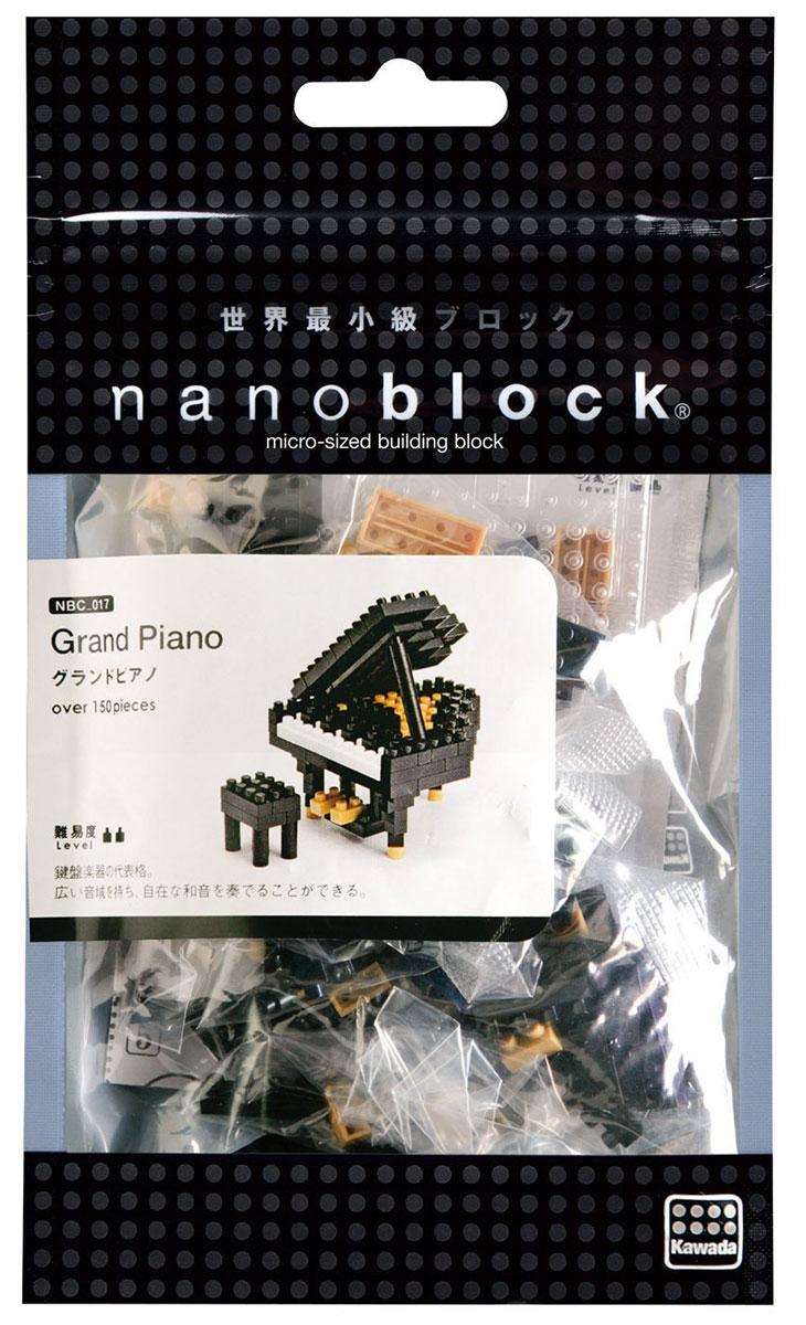 NanoBlock Мини-конструктор Черный рояль