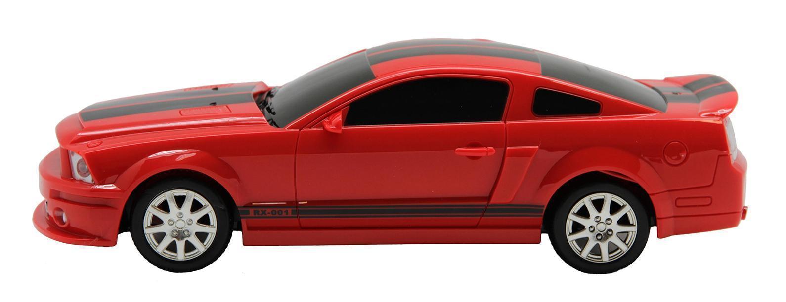 """Радиоуправляемая машина """"Balbi"""" привлечет внимание не только ребенка, но и взрослого. Модель отличается оригинальным исполнением и функциональностью. Дизайн машины представляет собой уменьшенную версию автомобиля в масштабе 1:20. Игрушка выполнена из ударопрочного пластика красно-черного цвета, которому не страшны столкновения. Благодаря резиновым шинам машина может ездить по любой ровной поверхности. Такая машина может двигаться вперед, назад, вправо, влево и демонстрирует устойчивость и плавность перемещения. При движении вперед машина освещает дорогу светодиодными огнями."""