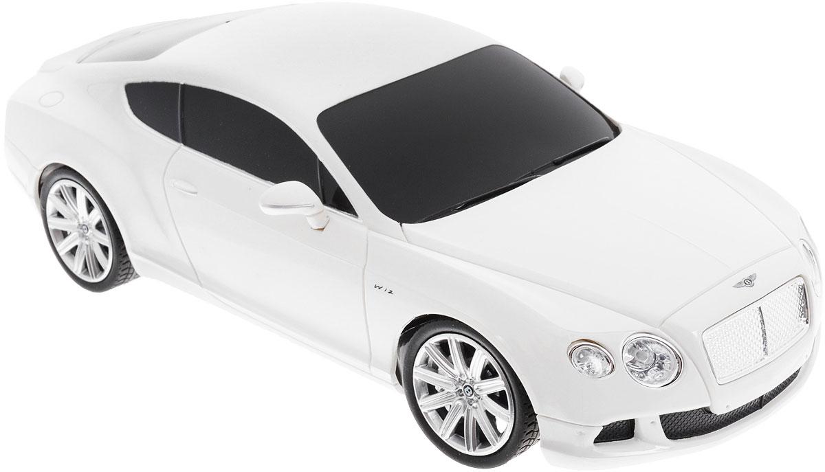 Rastar Радиоуправляемая модель Bentley Continental GT Speed цвет белый масштаб 1:24