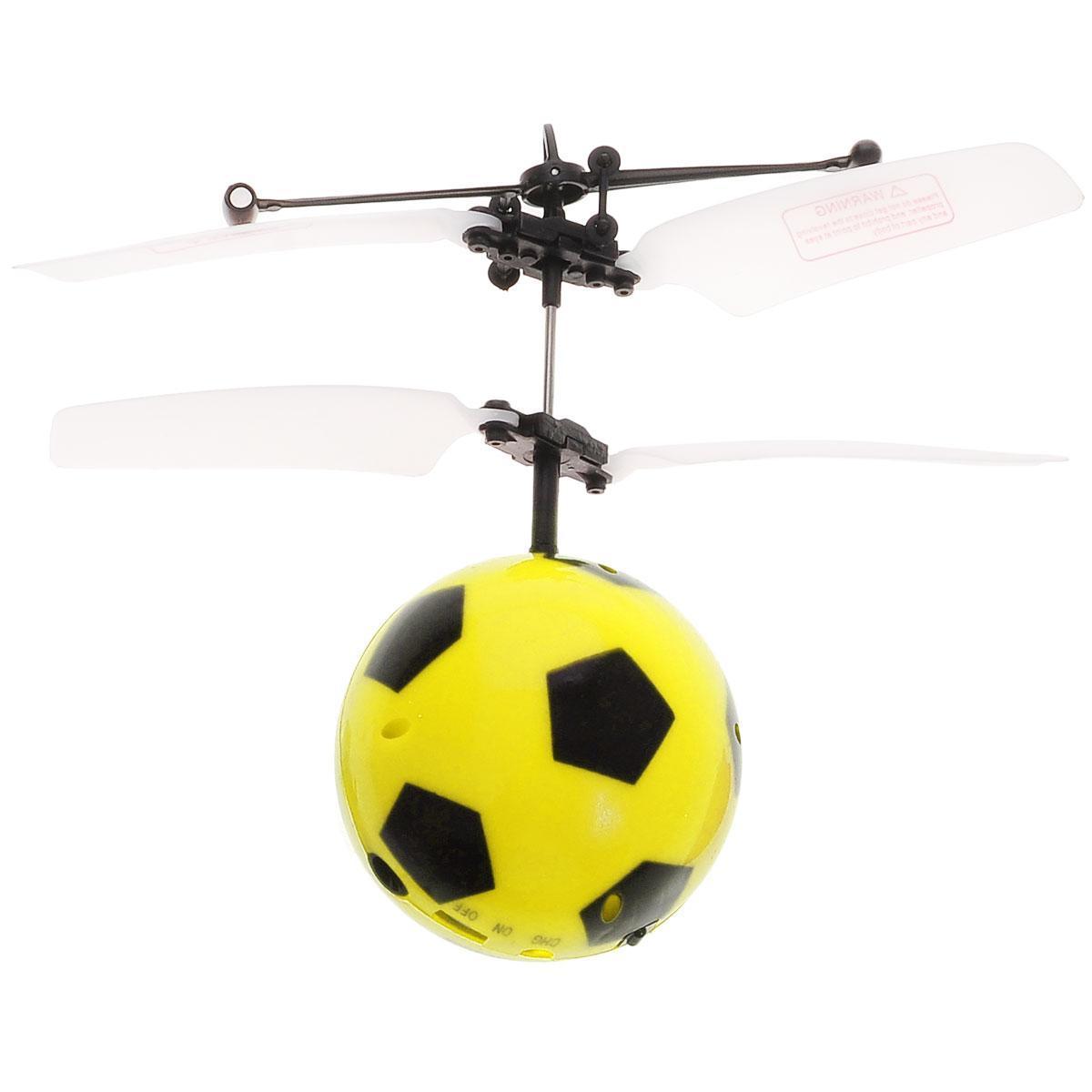 Минифлаер Футбольный мяч BALBI FB-001-Y, цвет: желтый