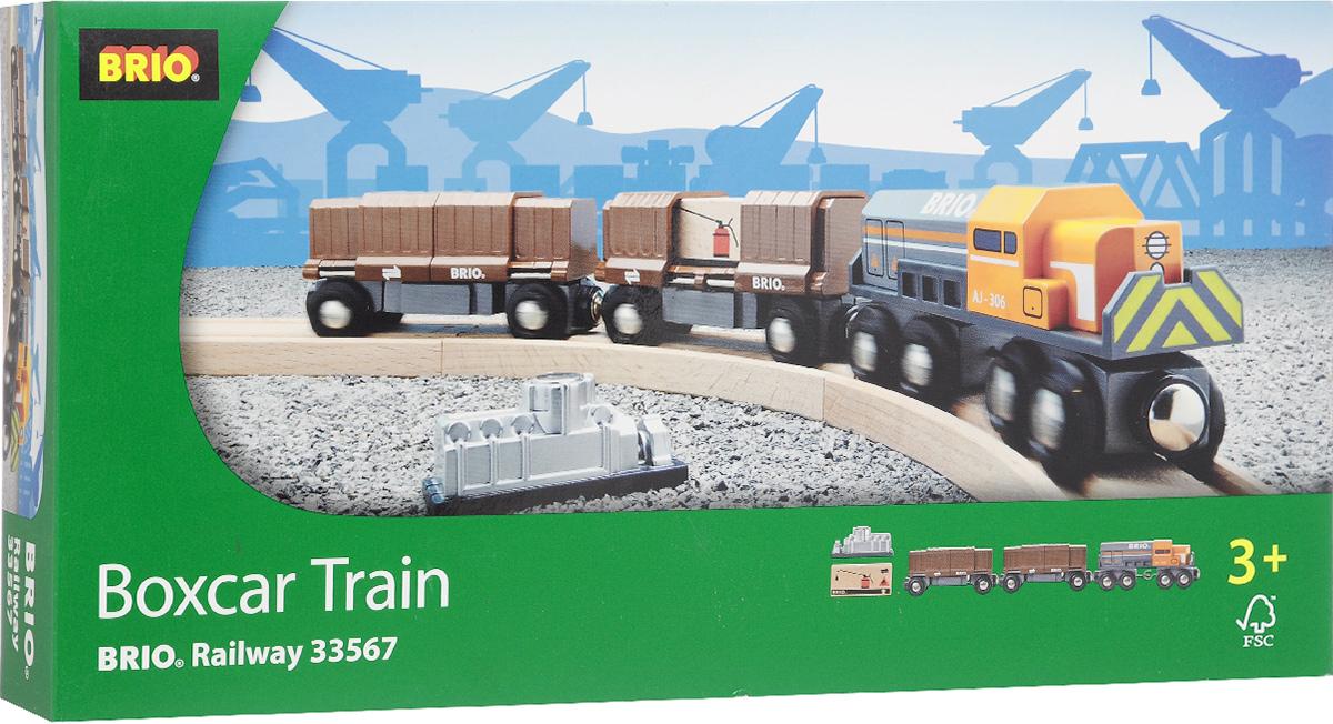 Brio Товарный поезд с раздвижными вагонами, Brio AB