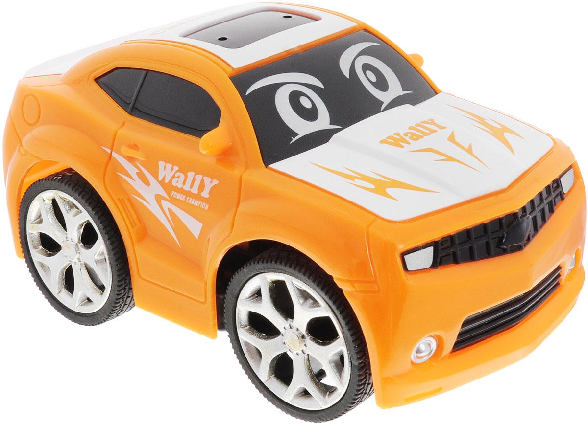 """Привлекательная радиоуправляемая модель 1TOY """"Wally"""" из серии """"Мульт-Драйв"""" подходит для самых маленьких любителей гонок. Яркая машинка практически оживает благодаря глазкам на лобовом стекле. Несмотря на свой мультяшный стиль, она не уступает настоящим радиоуправляемым моделям. Выполненная из безопасного прочного пластика, модель может двигаться влево, вправо, назад и вперед. Порадуйте своего малыша таким замечательным подарком! Для работы игрушки необходимы 3 батарейки напряжением 1,5 V типа ААА (не входят в комплект). Для работы пульта управления необходима 2 батарейки напряжением 1,5 V типа ААА (не входят в комплект)."""