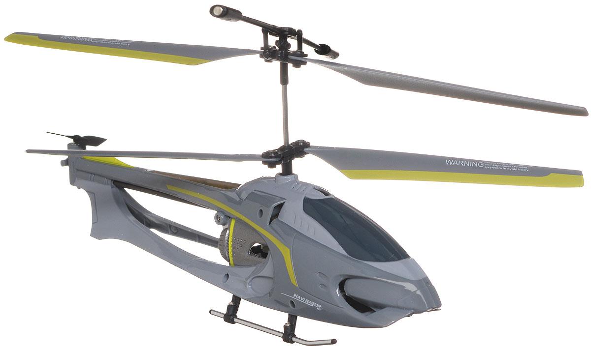 """Вертолет на инфракрасном управлении Auldey """"Navigator"""" - игрушка, которая обязательно понравится вашему ребенку. Каркас вертолета выполнен из пластика с использованием металла и идеально подходит для игры как внутри помещения, так и на улице. Он может летать на разной высоте вперед и назад, поворачивать вправо и влево. Вертолет оснащен трехканальным управлением, имеет круиз-контроль и встроенный гироскоп, благодаря которому модель обладает высокой стабильностью полета. Это позволит полностью контролировать процесс полета, управлять без суеты и страха сломать игрушку. Каждый запуск вертолета Auldey """"Navigator"""" принесет яркие впечатления вам и вашему ребенку! Оригинальный дизайн, мощный двигатель позволяют получить максимум позитивных эмоций от игры. Радиоуправляемые игрушки развивают у ребенка мелкую моторику, логику, координацию движений и пространственное мышление. Порадуйте своего ребенка таким замечательным подарком! Вертолет работает..."""