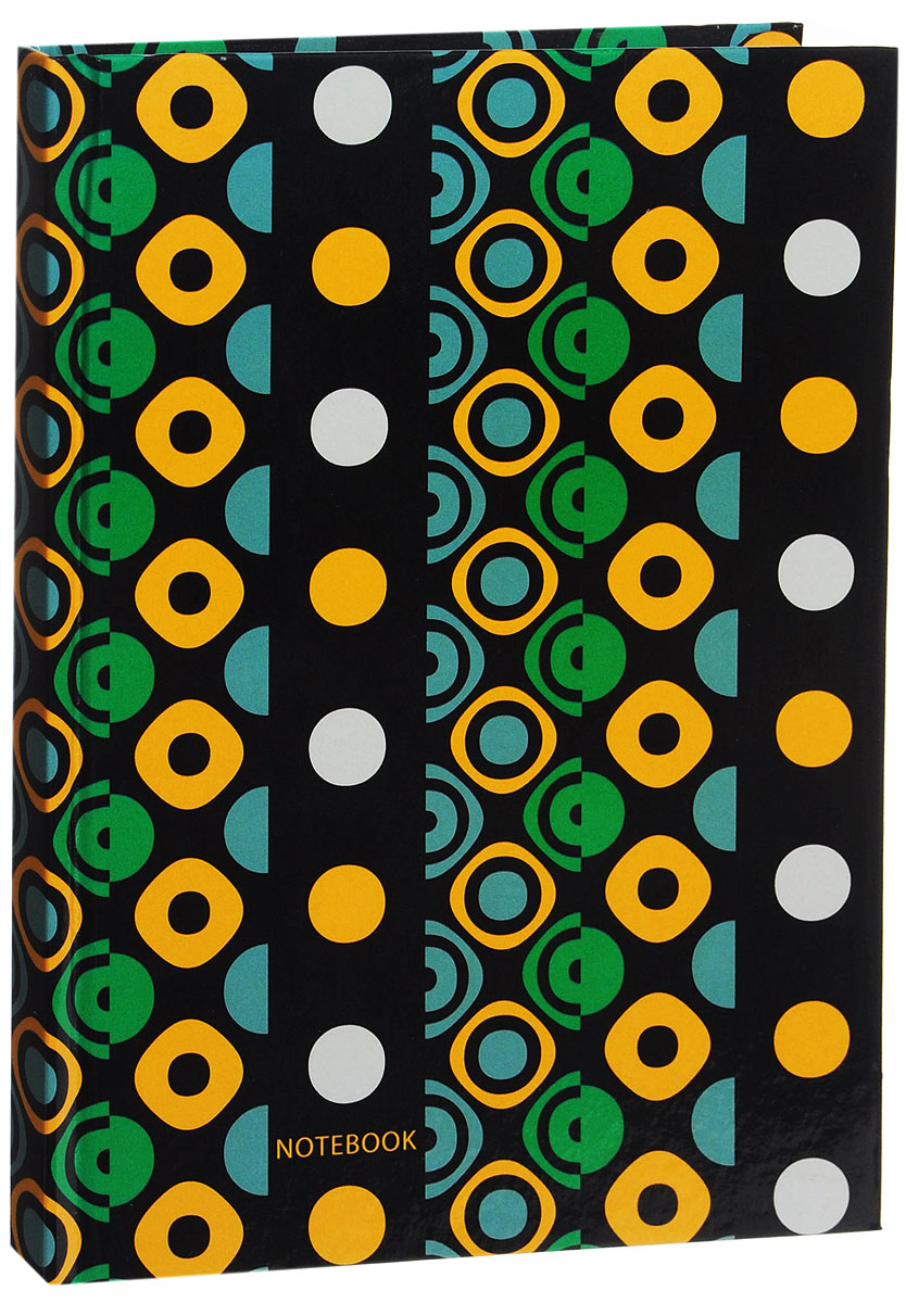 Listoff Записная книжка Яркие краски 130 листов в клетку72523WDЗаписная книжка Listoff Яркие краски - незаменимый атрибут современного человека, необходимый для рабочих и повседневных записей в офисе и дома. Записная книжка содержит 130 листов формата А5 в клетку без полей. Обложка, выполненная из ламинированного картона, украшена разноцветным геометрическим орнаментом. Внутренний блок изготовлен из высококачественной плотной бумаги, что гарантирует чистоту записей и отсутствие клякс. Книга для записей Listoff Яркие краски станет достойным аксессуаром среди ваших канцелярских принадлежностей. Она подойдет как для деловых людей, так и для любителей записывать свои мысли, рисовать скетчи, делать наброски.