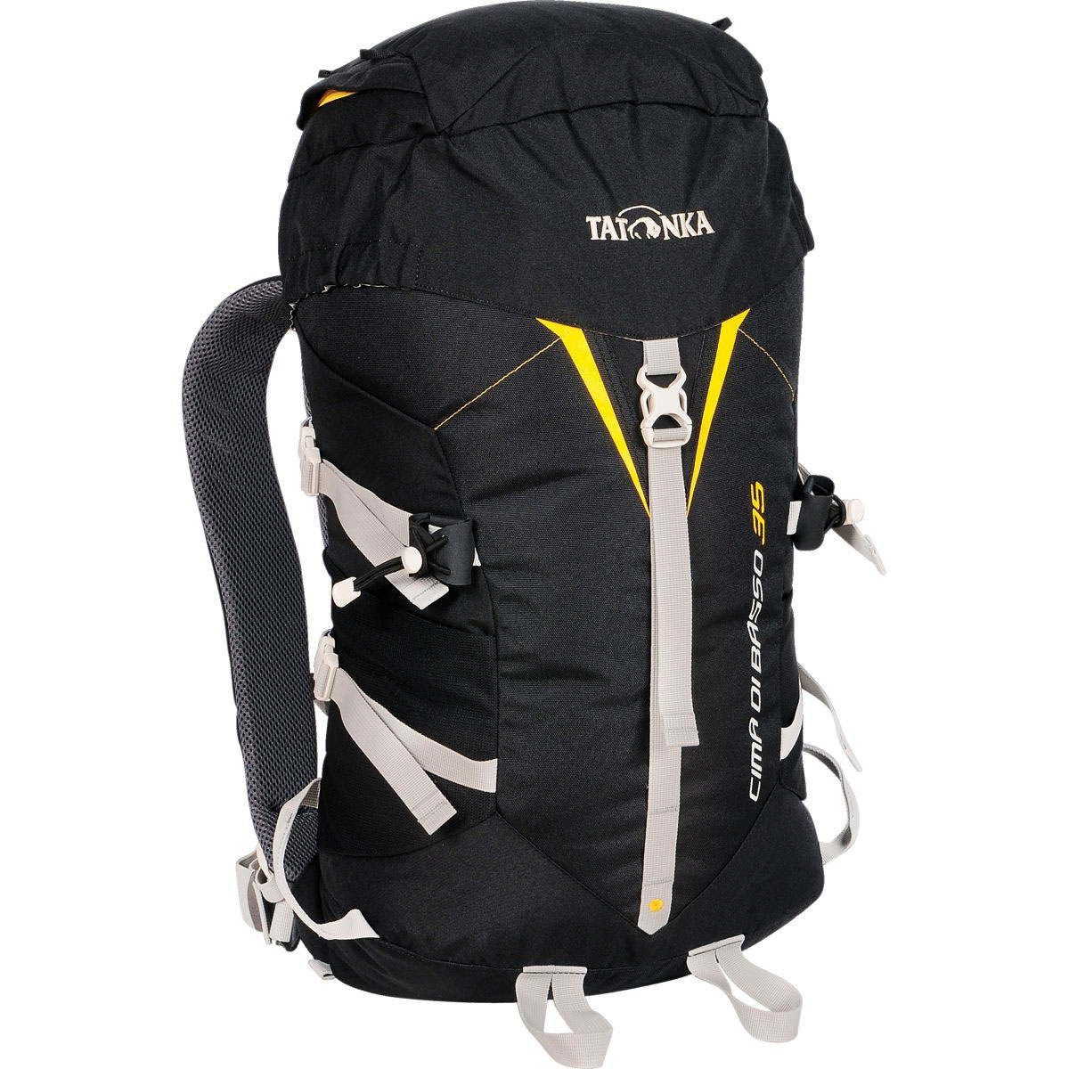 Рюкзак спортивный Tatonka Cima Di Basso, цвет: черный, 35 л