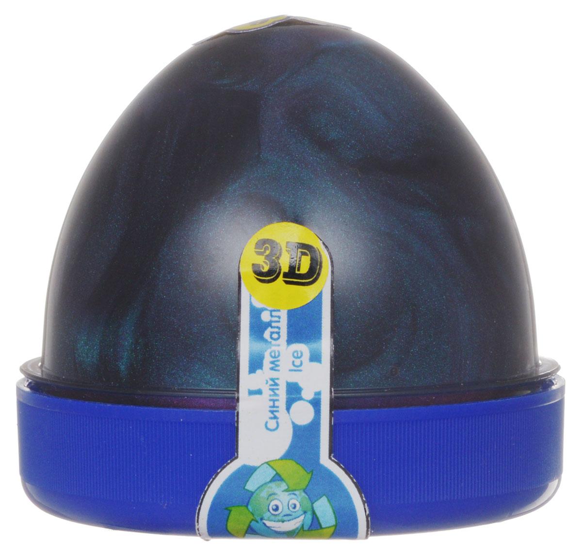 """Жвачка для рук """"ТМ HandGum"""", цвет: синий металлик, с запахом озона, 70 г"""
