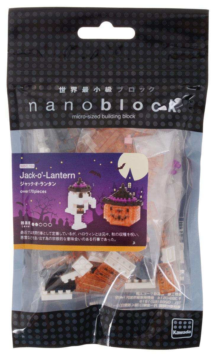 Nanoblock Мини-конструктор Джек-фонарь гаджет fototo nanoblock фотоаппарат конструктор
