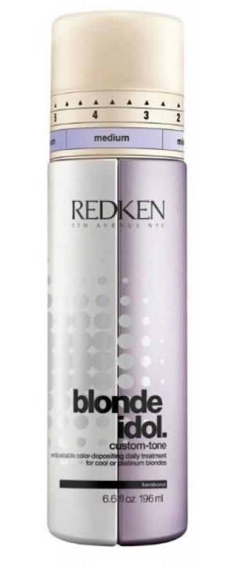 Redken кондиционер Blonde Idol для холодных оттенков 250 млFS-00897Подходит для всех типов светлых волос холодных, ледяных, платиновых оттенков. Благодаря идеальному сочетанию оттеночных и ухаживающих компонентов, кондиционер-уход нейтрализует желтизну, продлевая жизнь вашему окрашиванию, придавая им невероятный блеск и ухоженный вид.