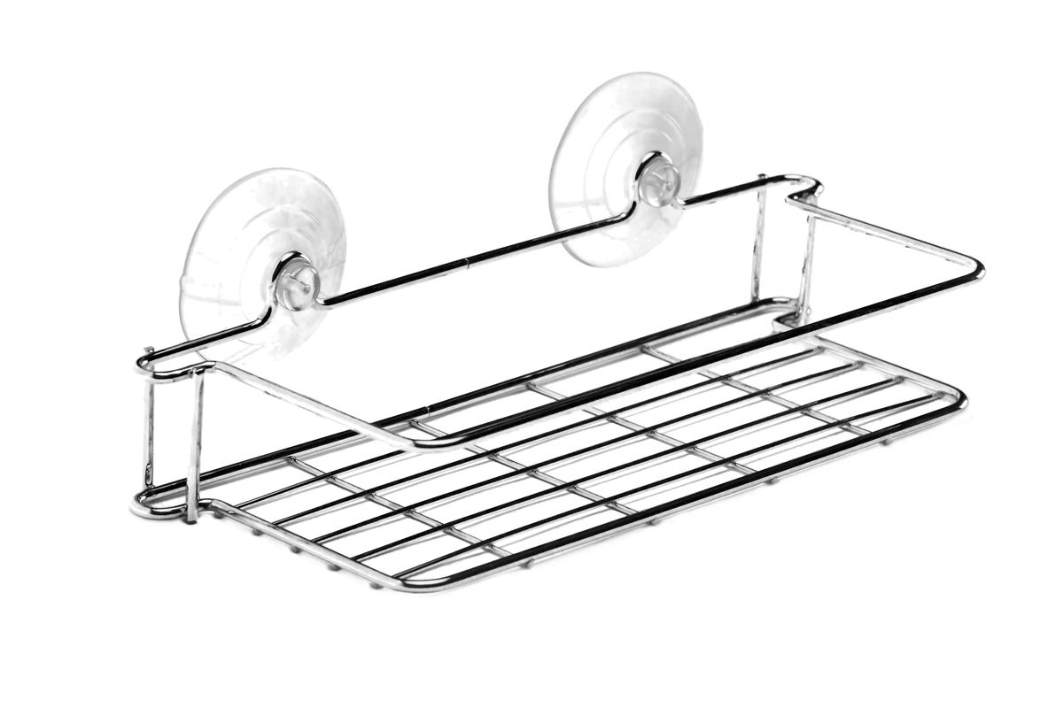 Полка для ванной комнаты Vanstore Neo, прямая, на вакуумных присосках, 28 х 11 х 7 см control board of s787a 18650 battery universal spot welding fixture for spot welder