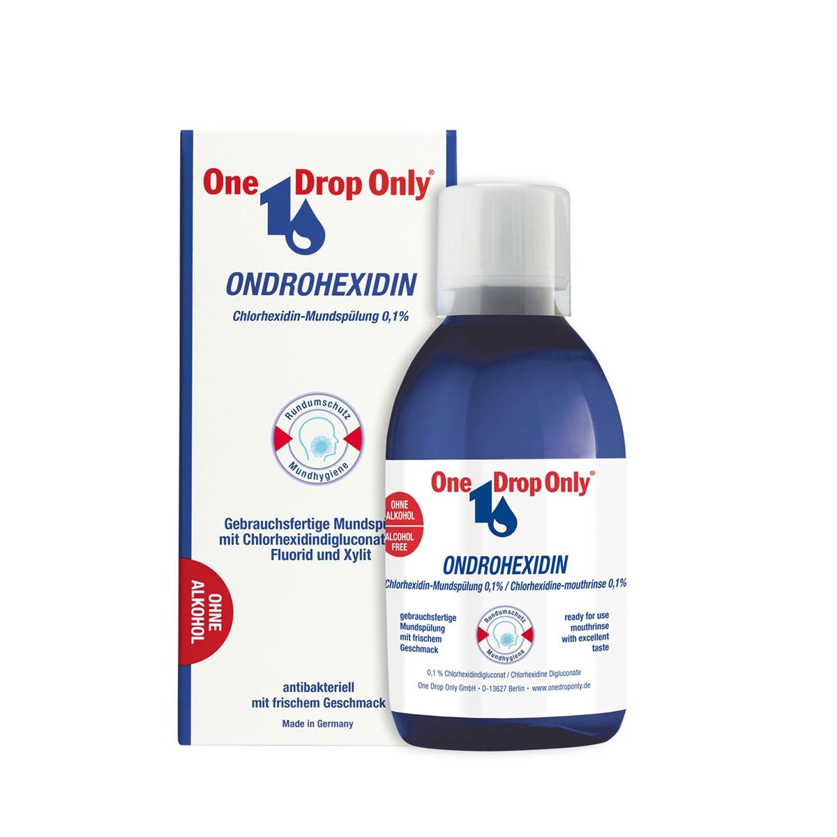 One Drop Only Ополаскиватель полости рта с хлоргексидином, 250 мл84850536_золушка/голубой, розовыйОполаскиватель полости рта на основе хлоргексидина, 250 мл