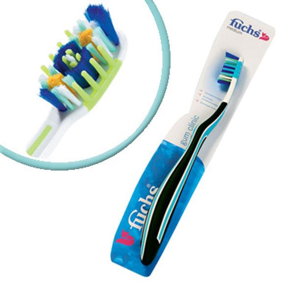 Fuchs Зубная щетка с массажем десенMP59.4DЗубная щетка Fuchs Gum clinic для десен,средней жесткости