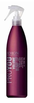 Revlon Professional Pro You Спрей для объема волос Volume Bump Up 350 мл72523WDСпрей для увеличения объема волос от Revlon незаменим для придания объема и гибкости тонким волосам. Укладка волос становится более легкой и приятной, а сама прическа приобретает неожиданную пышность, стойкий блеск и надежную фиксацию. Спрей обладает и защитными функциями, предохраняя волосы от повреждающих факторов и термического воздействия. Со спреем Pro You Volume Bump Up Ваши волосы под надежной защитой!