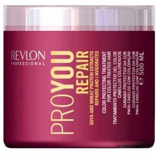Revlon Professional Pro You Маска восстанавливающая Repair Mask 500 млFS-00897Восстанавливающая маска для поврежденных волос Pro You Repair содержит пшеничный белок и экстракт сои. Предназначена для жестких, ослабленных и поврежденных волос. Сложный состав маски осуществляет комплексное воздействие на волосы и кожный покров головы, позволяет восстанавливать поврежденный липидный слой волосяного волокна. Ваши волосы снова станут сияющими и здоровыми.