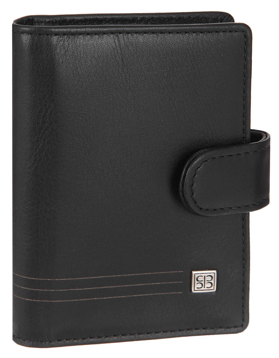 Визитница вертикальная Sergio Belotti, цвет: черный. 2466B16-11416Стильная вертикальная визитница Sergio Belotti выполнена из натуральной кожи. Изделие оформлено металлической фурнитурой с символикой бренда.Визитница закрывается хлястиком на кнопку. Внутри изделие содержит съемный блок, состоящий из 16 файлов для визиток, а также три накладных кармашка, один из которых с сетчатой вставкой, и кармашек для sim-карты. Изделие поставляется в фирменной упаковке.Визитница Sergio Belotti станет отличным подарком для человека, ценящего качественные и практичные вещи.