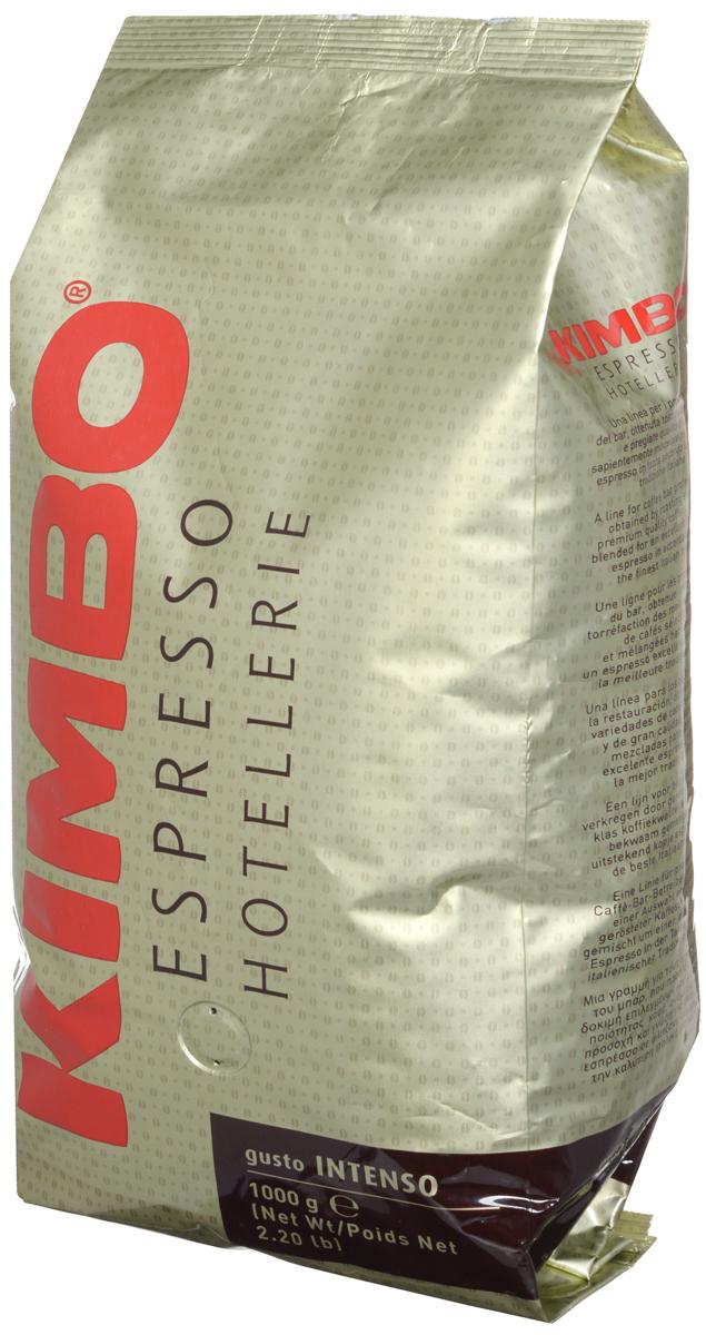 Kimbo Espresso Hotellerie Gusto Intenso кофе в зернах, 1 кг0120710Kimbo Gusto Intenso - это гармоничное сочетание лучшей арабики из Центральной Америки с минимальным добавлением азиатской робусты. Такой купаж придает смеси тончайший вкус, сладковатый и мягкий, с незабываемым ароматом.