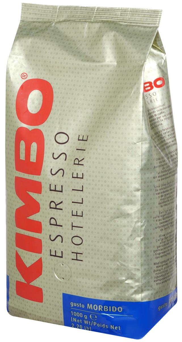 Kimbo Espresso Hotellerie Gusto Morbido кофе в зернах, 1 кг476746Специальная обжарка зерен для Kimbo Gusto Morbido, а также изысканное сочетание арабики из Центральной Америки и азиатской робусты создает мягкий вкус для идеально сбалансированного эспрессо.