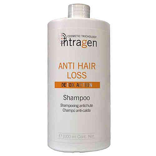 Revlon Professional Intragen INT Шампунь против выпадения волос Anti-Hair Loss Shampoo 1000 млFS-36054Средство с сильным воздействием. Ваши волосы слабые и ломкие? На расческе каждый раз остаются внушительные объемы волос? Этот шампунь укрепит корни волос, напитает кожный покров головы. Минералы и витамины в составе лечебного комплекса глубоко питают волосы по всей длине, препятствуя их ломкости и выпадению. Продукт одинаково хорошо подходит как мужчинам, так и женщинам.