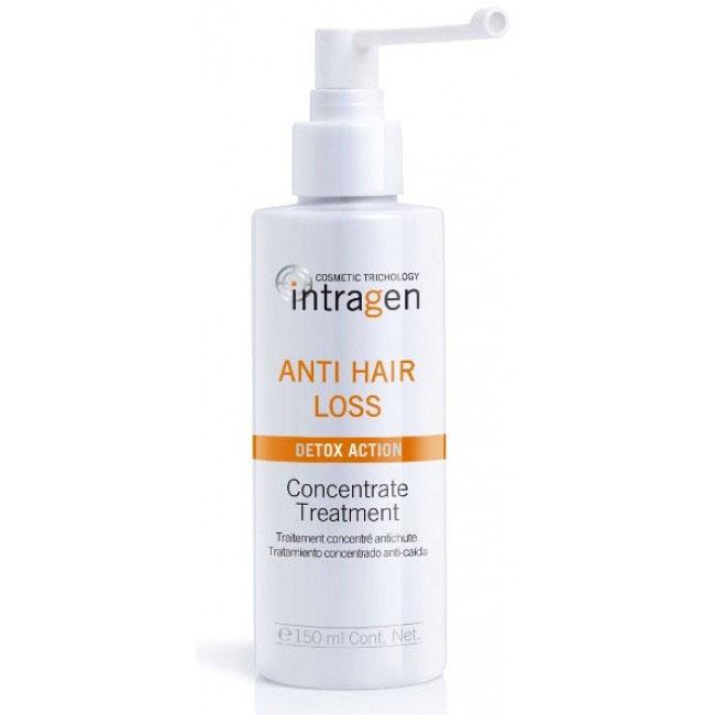 Revlon Professional Средство против выпадения волос Intragen 150 млFS-36054Средство с сильным воздействием. Ваши волосы слабые и ломкие? На расческе каждый раз остаются внушительные объемы волос? Этот спрей-мусс укрепит корни волос, напитает кожный покров головы. Минералы и витамины в составе лечебного комплекса глубоко питают волосы по всей длине, препятствуя их ломкости и выпадению. Продукт одинаково хорошо подходит как мужчинам, так и женщинам.