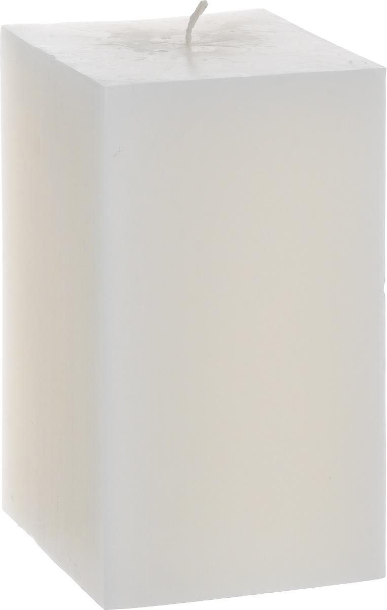 Свеча декоративная Proffi Квадрат, цвет: белый, 9,5 х 9,5 х 17,5 смRG-D31SСвеча Proffi Квадрат выполнена из парафина и стеарина в классическом стиле. Изделие порадует вас ярким дизайном. Такую свечу можно поставить в любое место, и она станет ярким украшением интерьера. Свеча Proffi Квадрат создаст незабываемую атмосферу, будь то торжество, романтический вечер или будничный день.