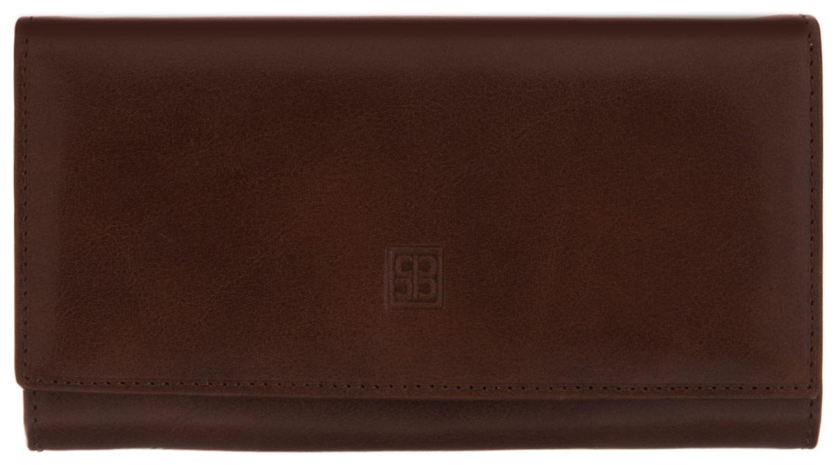 Кошелек Sergio Belotti, цвет: коричневый. 1122 milano brown392394закрывается клапаном на кнопкувнутри три отдела для купюротделение для мелочи (закрывается на классический замок) три потайных кармашка (один из которых с прозрачной пластиковой вставкой) кармашек для бумаг на молниишесть кармашков для пластиковых карт (один из которых с прозрачной пластиковой вставкой) кармашек для sim картыснаружи на задней стенке карман для документов Вид застежки: клапаном на кнопку