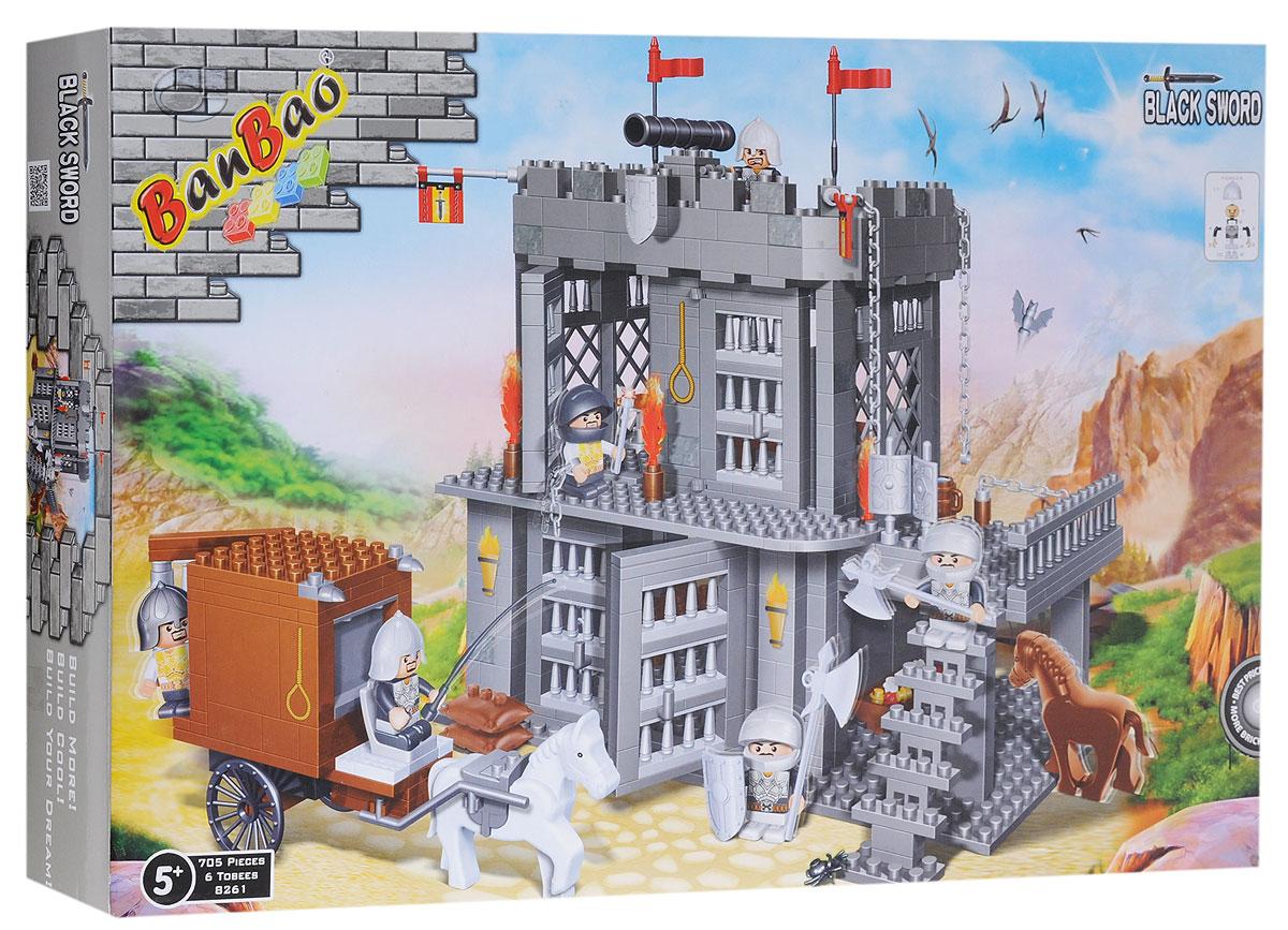 BanBao Конструктор Замок средневековый замок