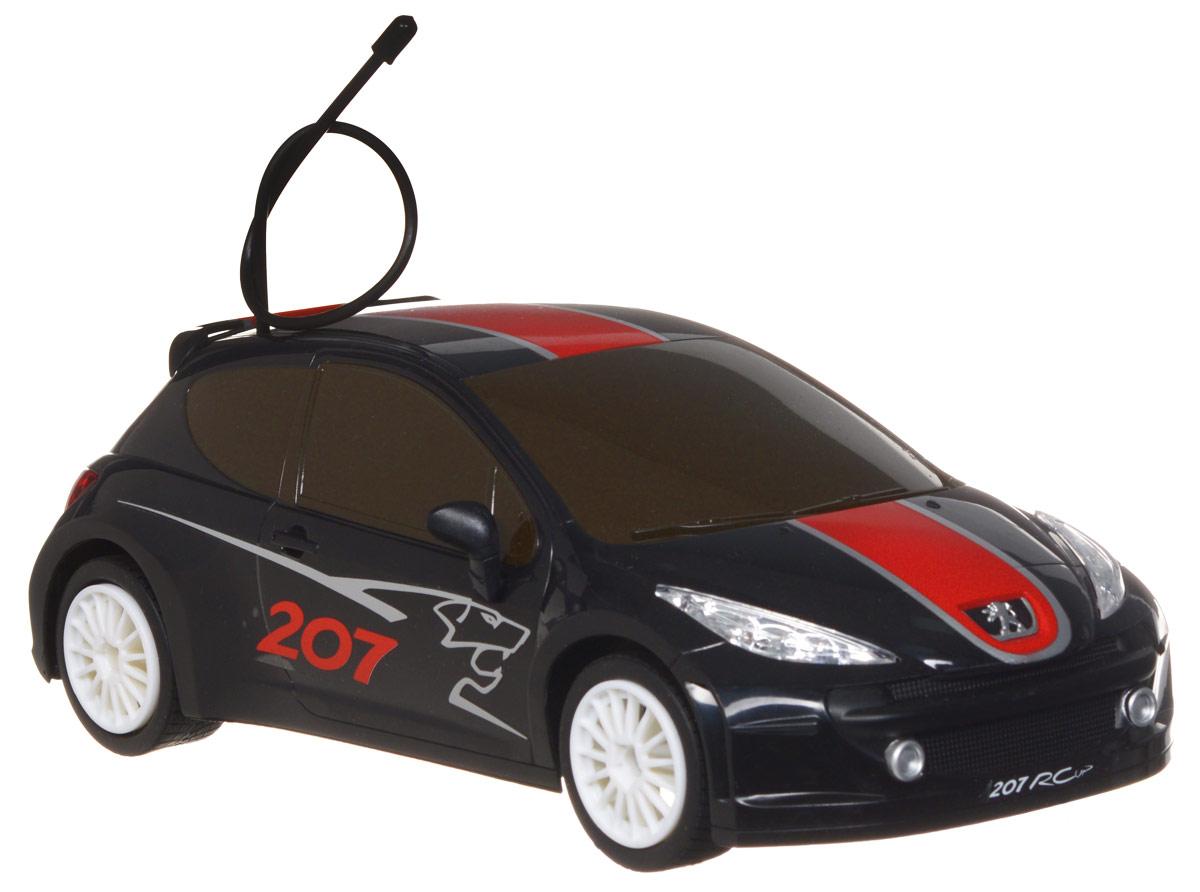 Rastar Радиоуправляемая модель Peugeot 207 RCUP цвет черный