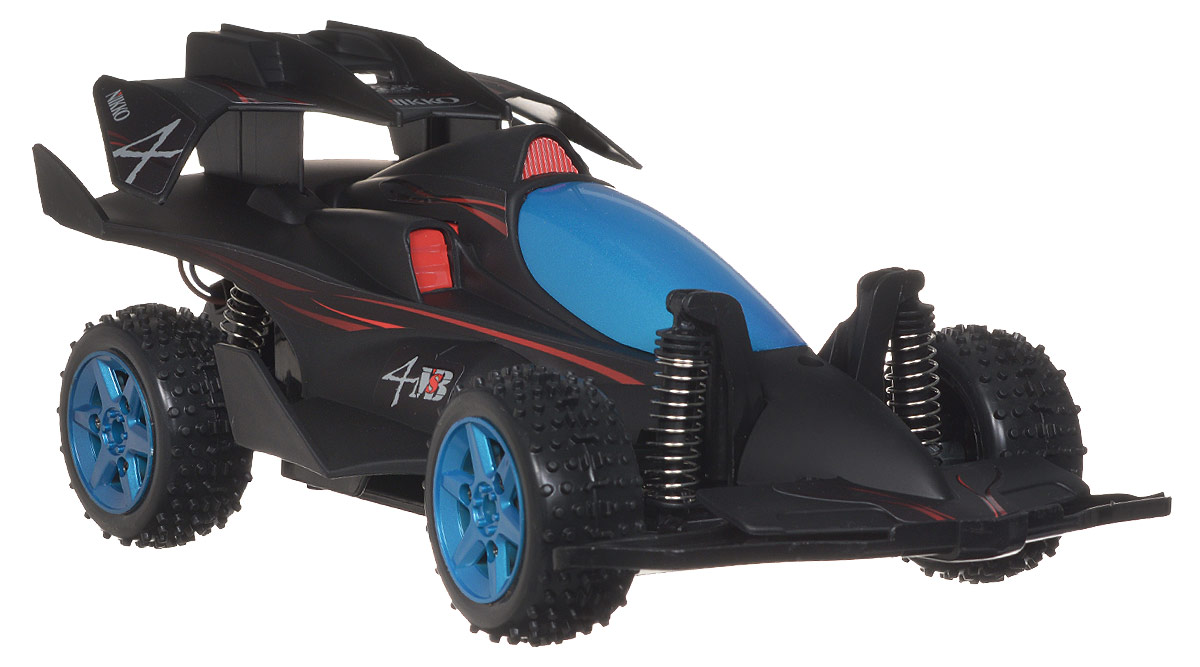 """Машина на радиоуправлении """"Mystery Black 4"""" обязательно привлечет внимание взрослого и ребенка и понравится любому, кто увлекается автомобилями. Юные автогонщики оценят эту машину за прекрасные технические характеристики и полную свободу передвижений в любую сторону. Моделью легко управлять и любая гонка принесет удовольствие. Маневренная и реалистичная модель гоночной машины """"Mystery Black 4"""" выполнена в масштабе 1:18. Управление машинкой происходит с помощью удобного пульта. Автомобиль двигается вперед и назад, поворачивает направо и налево. Автомобиль изготовлен из пластика с металлическими элементами. Колеса игрушки прорезинены и обеспечивают плавный ход, машинка не портит напольное покрытие. Радиоуправляемые игрушки способствуют развитию координации движений, моторики и ловкости. Ваш ребенок часами будет играть с моделью, придумывая различные истории и устраивая соревнования. Порадуйте его таким замечательным подарком! Игрушка работает от..."""